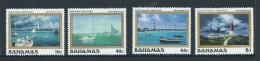 Bahamas 1987 Airmail Plane Set Of 4 MNH - Bahamas (1973-...)