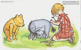 Télécarte NEUVE Japon / 110-211340 - DISNEY - Ours WINNIE POOH COLLECTION - Teddy Bear Japan MINT Phonecard / 3000 EX - Disney