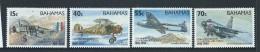Bahamas 1993 Royal Air Force Fighter Plane Set Of 4 MNH - Bahamas (1973-...)