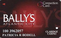 Bally´s Casino Atlantic City NJ - Connection Card - Cpi 2014304 Over Mag Stripe - Casino Cards