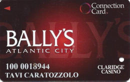 Bally´s Casino Atlantic City NJ - Connection Card - Cpi 2016014 Over Mag Stripe - Casinokaarten