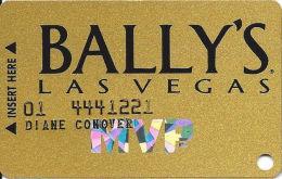 Bally´s Casino Las Vegas, NV MVP Slot Card - SC962 Over Mag Stripe - Casino Cards