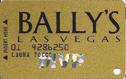 Bally´s Casino Las Vegas, NV MVP Slot Card - SC99 Over Mag Stripe - Casino Cards