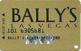Bally´s Casino Las Vegas, NV Slot Card - Silver MVP With SM - New MVP Friend - Casino Cards