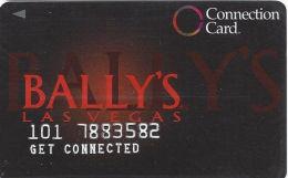Bally´s Casino Las Vegas, NV - Connection Card - 4 Casinos On Rev - Bally´s 722-5597 - Get Connected - Casino Cards