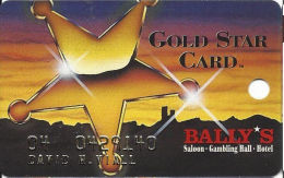 Bally´s Casino Tunica, MS Slot Card - Players Wagering $5 - 8mm Mag - Signature Strip - Casino Cards