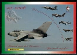 *B6*  ITALIA AEROFILIA  2006  - 70° Anniversario  6° Stormo Aeronautica Militare - 1  Cpl - Perfetta - 6. 1946-.. Repubblica