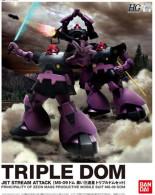 Gundam : HGUC 1/144 MS-09 Triple Dom  ( Bandai ) - SF & Robots