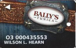 Bally´s Casino Tunica, MS Slot Card - Casino Cards