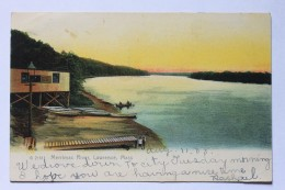 Merrimac River, Lawrence, MA, 1908, Rotograph Co. Undivided Back UDB Postcard - Lawrence