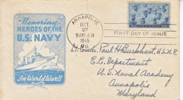 U.S. 935  FDC  U.S. Navy At  ANNAPOLIS   IOOR  COVER - United States