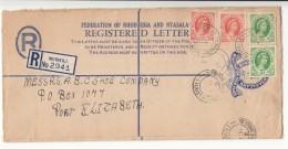 Rhodesia + Nyasaland / Federation Stationery / Postmarks - Francobolli
