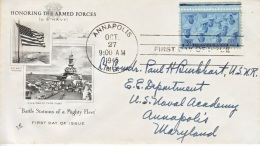 U.S. 935  FDC  U.S. Navy At  ANNAPOLIS   ART  CRAFT COVER - United States
