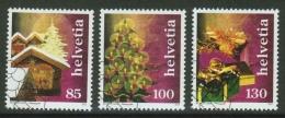 Suisse /Schweiz/Svizzera/Switzerland/ 2007 // Timbres De Noël  Cachet 1er Jour  No.1254-1256 - Used Stamps
