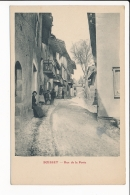 Carte De BOISSET  Rue De La Poste   ( Recto Verso ) - France