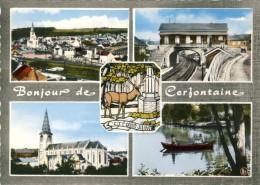 Cerfontaine - Bonjour De ... - Carte Multivues, Donc La Gare - Cerfontaine