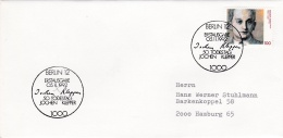 Germany FDC 1992 50. Todestag Jochen Klepper (G72-92) - [7] Repubblica Federale