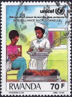 Rwanda 1987 - UNICEF : Campaign For Child Survival ( Mi 1361 - YT 1232 ) - Rwanda