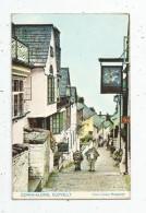 G-I-E , Cp, Angleterre , CLOVELLY  , ANIMAUX , ÂNE , Down Along   , Voyagée 1966 - Clovelly