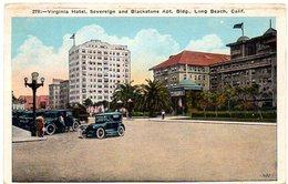 Virginia Hotel, Sovereign And Blackstone Apt. Bidg, LONG BEACH , CALIFORNIA  ( Amerique ) - Long Beach