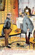 [DC2941] CPA - PAYSANNEIES - Viaggiata 1917 - Old Postcard - Humor