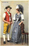 [DC2942] CPA - APPENZELLER PAAR - Viaggiata - Old Postcard - Etnie & Culture