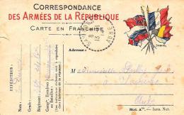 [DC2955] CPA - CORRESPONDANCE DES ARMEES DE LA REPUBLIQUE - Viaggiata - Old Postcard - Militari