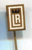 LR -  Vintage Pin Badge, Enamel - Marques