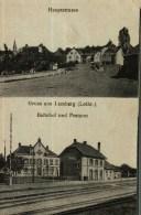 CPA  Allemande (57)       Gruss Aus  LEMBERG  (2 Vues) - Other Municipalities