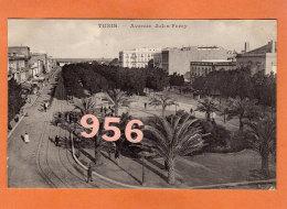 CPA * * TUNIS * * Avenue Jules Ferry - Tunisie