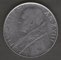 VATICANO 100 LIRE 1956 - Vaticano
