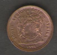 SUD AFRICA 1 CENT 1991 - Sud Africa