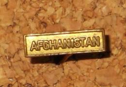 Agrafe Pour Réduction - Afghanistan (doré) - 14mm X 4mm - France