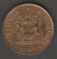 SUD AFRICA 1 CENT 1985 - Sud Africa