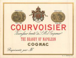 16 COGNAC  Carte Commerciale  COURVOISIER - Cognac