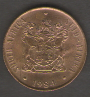 SUD AFRICA 2 CENT 1984 - Sud Africa