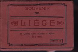 LIEGE CARNET DE 10 CARTES - Belgique