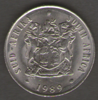 SUD AFRICA 20 CENTS 1989 - Sud Africa