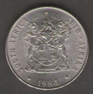 SUD AFRICA 50 CENT S 1984 - Sud Africa