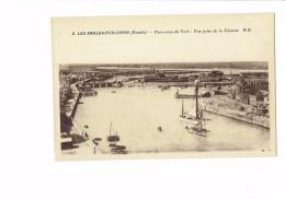 85 - LES SABLES D'OLONNE - Panorama Port - Vue Prise De La Chaume - N°2 A.B. - Bateau - Publicité BYRRH - Sables D'Olonne