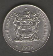 SUD AFRICA 50 CENT S 1978 - Sud Africa