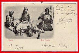 ASIE - YEMEN --  Aden  - Arab Dancing - Yemen
