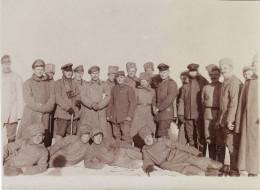 Photo 1917 TROSTYANETS (Troscianiec, Ost-Galizien) - Soldats Allemands (A146, Ww1, Wk 1) - Ukraine