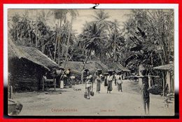 ASIE - CEYLON  - SRI LANKA - Colombo --  Street Scène - Yémen