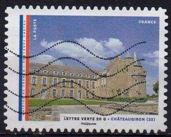 "AA1205 - Série "" Les Mairies De France : Châteaugiron"" - Oblitéré - 2015 - Gebruikt"