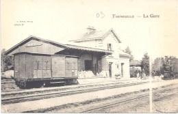 03 - THENEUILLE - LA GARE - Stazioni Senza Treni