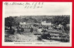 54. Longuyon. Pensionnat Ste-Chrétienne. Gare.  Feldpostamt Des III Armeekorps. Mai 1916 - Longuyon