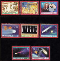 Montserrat 612/619 ** MNH. 1986 - Montserrat