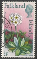 Falkland Islands. 1972 QEII. Flowers. Decimal Currency. ½p Used. SG 276 - Falkland Islands