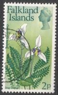 Falkland Islands. 1972 QEII. Flowers. Decimal Currency. 2p Used. SG 279 - Falkland Islands
